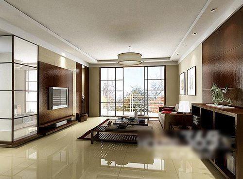 12例典雅的中式客厅装修效果图